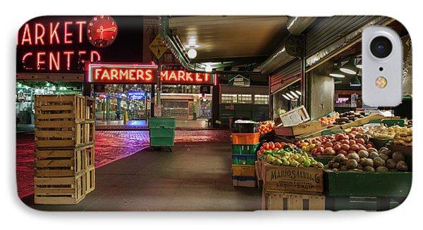 Seattle Public Market 2 IPhone Case