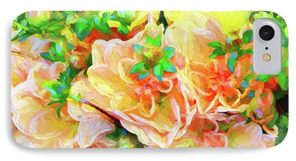 Seattle Public Market Flowers IPhone Case