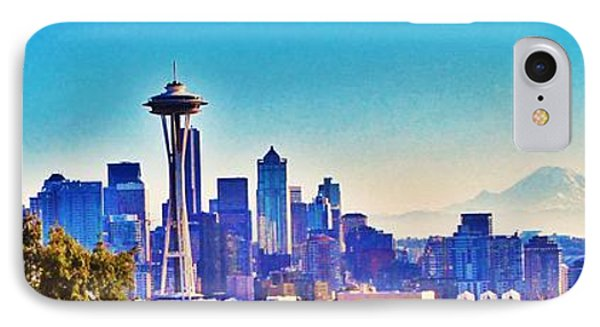 Seattle Sky IPhone Case by Martin Cline