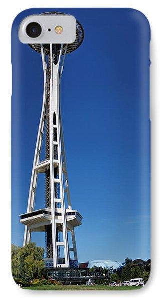 Seattle Space Needle Phone Case by Adam Romanowicz