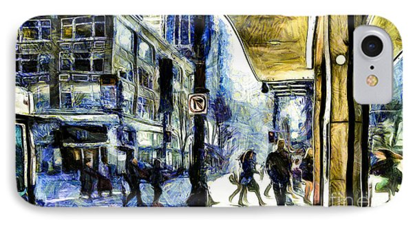 IPhone Case featuring the photograph Seattle Streets #2 by Susan Parish