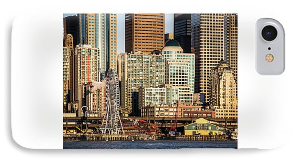 Seattle Waterfront IPhone Case
