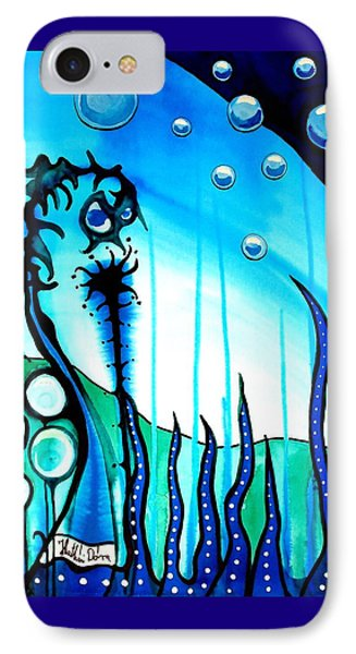 Seaweed - Art By Dora Hathazi Mendes IPhone Case by Dora Hathazi Mendes
