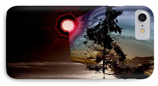 Sechelt Tree Stardust IPhone Case by Elaine Hunter