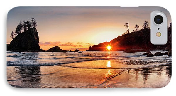 Second Beach 3 IPhone Case by Leland D Howard