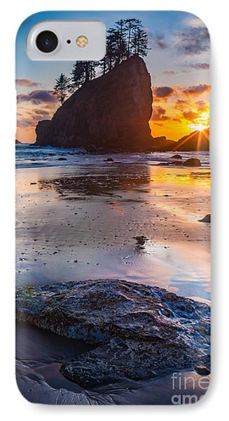 Second Beach Rock Phone Case by Inge Johnsson
