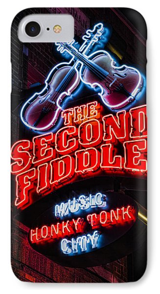 Second Fiddle IPhone Case by Stephen Stookey