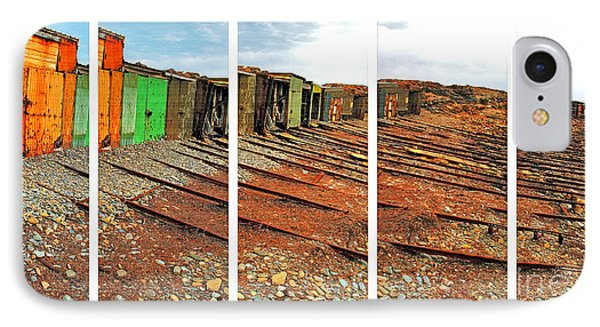 IPhone Case featuring the photograph Second Valley Boat Sheds by Stephen Mitchell