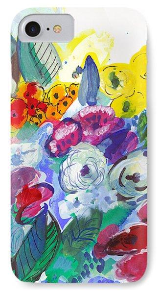Secret Garden With Wild Flowers IPhone Case