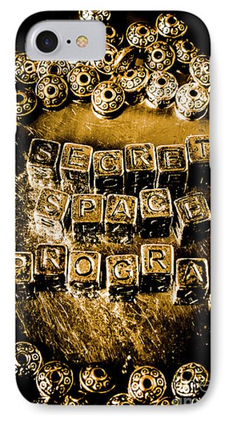 Secret Space Program IPhone Case