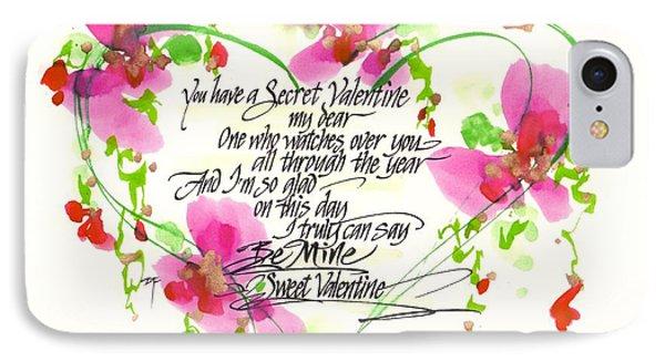 Secret Valentine IPhone Case