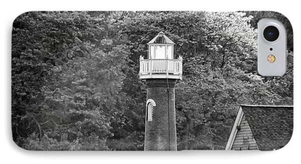 IPhone Case featuring the photograph Sedgely Club - Turtle Rock Lighthouse by Bill Cannon