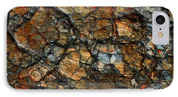 Sedimentary Abstract Phone Case by Dave Martsolf
