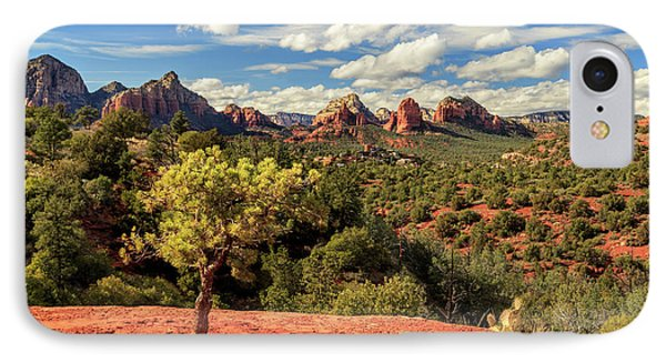 Sedona Afternoon IPhone Case by James Eddy