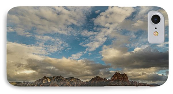 IPhone Case featuring the photograph Sedona Arizona Redrock Country Landscape Fx1 by David Haskett