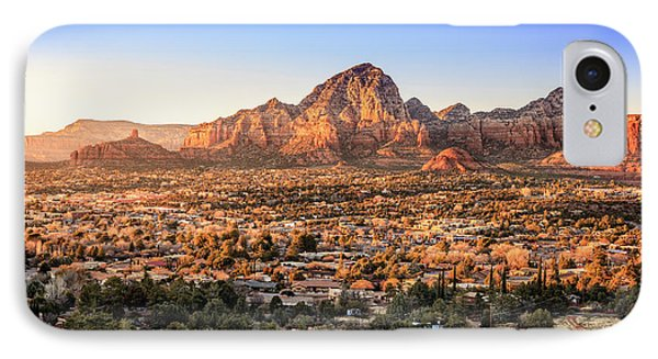 Sedona At Sunset IPhone Case by Alexey Stiop