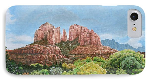 Sedona Az IPhone Case by Mike Ivey