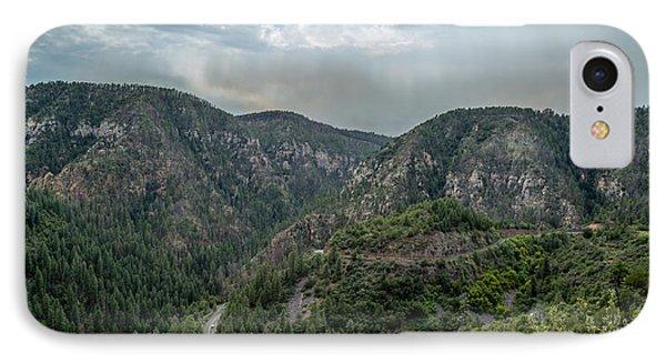 Sedona Mountains IPhone Case by Jon Manjeot