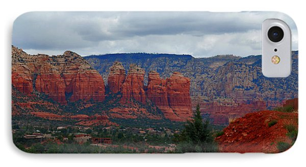 Sedona Mountains IPhone Case by Susanne Van Hulst