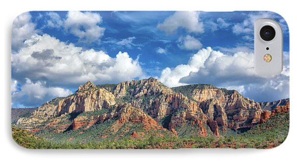 Sedona Red Rocks Scenic View IPhone Case by Jennifer Rondinelli Reilly