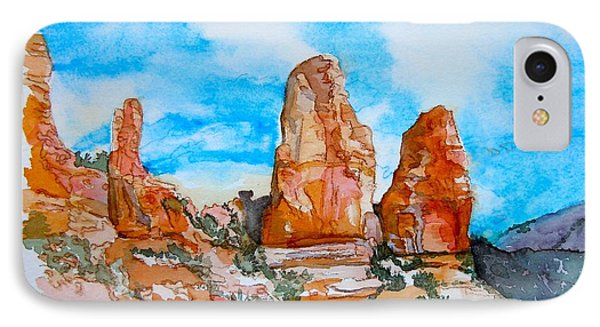 Sedona Red Rocks IPhone Case by Sharon Mick