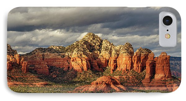 IPhone Case featuring the photograph Sedona Skyline by James Eddy