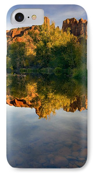 Sedona Sunset Phone Case by Mike  Dawson