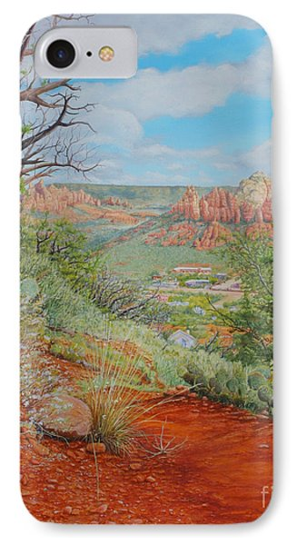 Sedona Trail IPhone Case by Mike Ivey