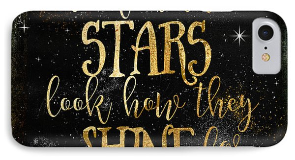 See How The Stars Shine IPhone Case by Mindy Sommers
