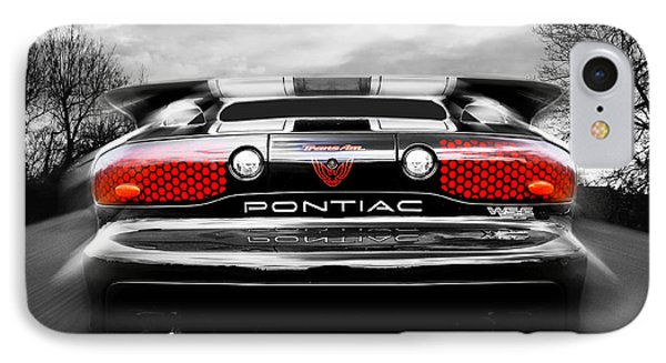 See You Later - Pontiac Trans Am IPhone Case by Gill Billington