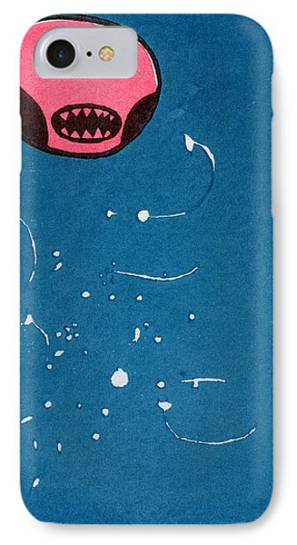 Seedpod Space Monster IPhone Case by Bella Larsson