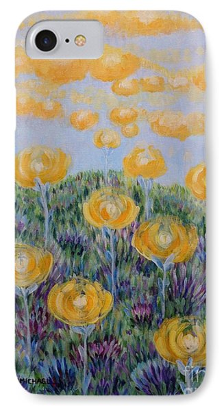 IPhone Case featuring the painting Seeing Through by Holly Carmichael