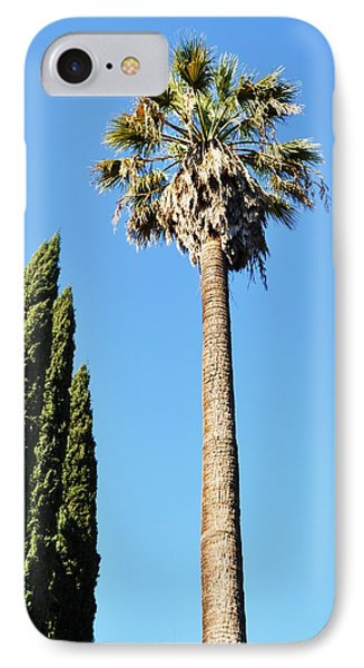 Seeking Beverly Hills Representation IPhone Case by Todd Sherlock