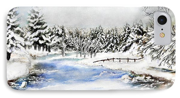 Seeley Montana Winter IPhone Case by Susan Kinney