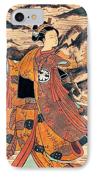 Segawa Kiyomitsu Phone Case by Carrie Jackson