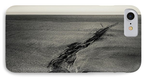 Seilebost Sand Tracks IPhone Case by Dave Bowman