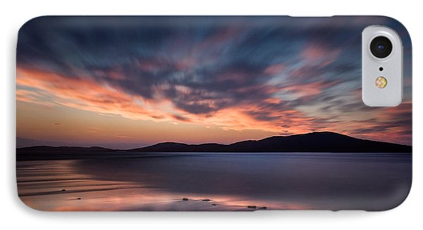 Seilebost Sunset IPhone Case by Dave Bowman