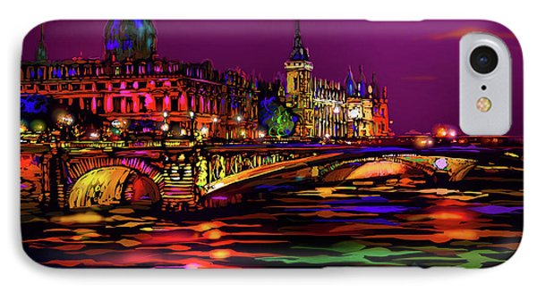 Seine, Paris IPhone Case