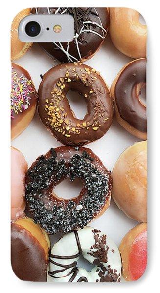 Selection Of Doughnut IPhone Case