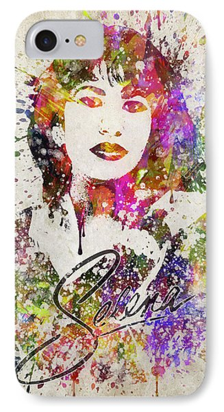 Selena Quintanilla In Color IPhone Case