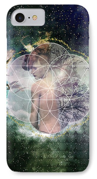 Self Discovery Metaphysical Enlightenment IPhone Case by MetaProduct