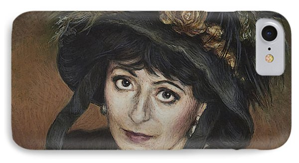 Self-portrait A La Camille Claudel IPhone Case