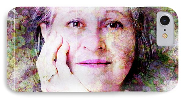 Self Portrait Phone Case by Barbara Berney