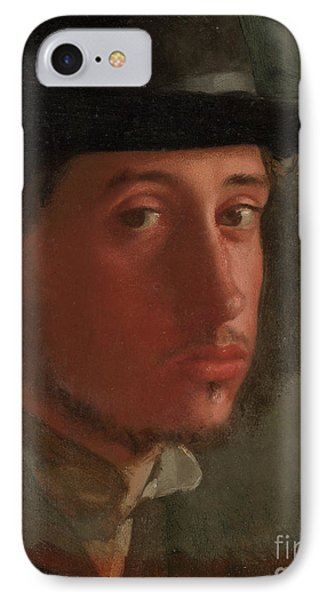 Self-portrait By Edgar Degas  IPhone Case by Esoterica Art Agency