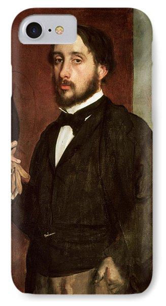 Self Portrait IPhone Case by Edgar Degas