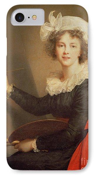 Self Portrait IPhone Case by Elisabeth Louise Vigee-Lebrun