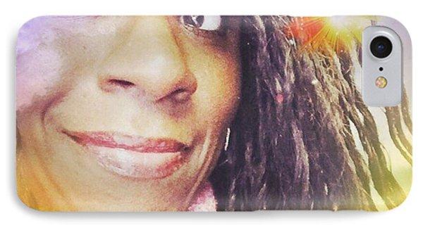 Selfies Portrait  IPhone Case