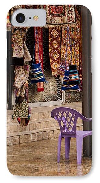 Selling At The Bazaar Phone Case by Rae Tucker