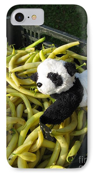 IPhone Case featuring the photograph Selling Beans by Ausra Huntington nee Paulauskaite