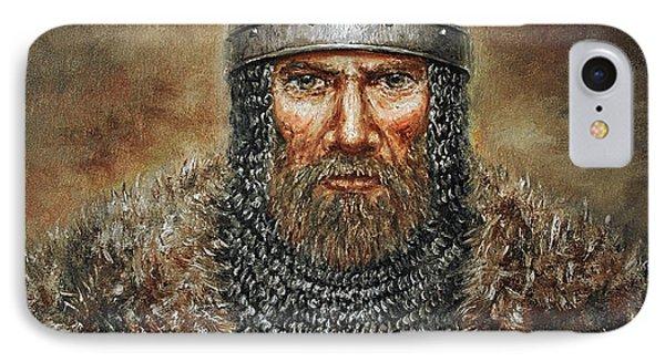 Semigalian Chieftain IPhone Case by Arturas Slapsys